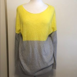 Gap neon and neutral sweater